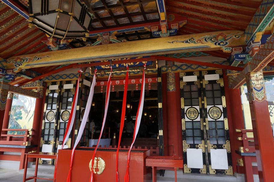 祐徳稲荷神社の本殿で行われた祭事