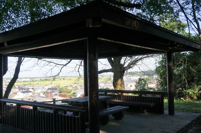 事比羅神社の休憩スペース