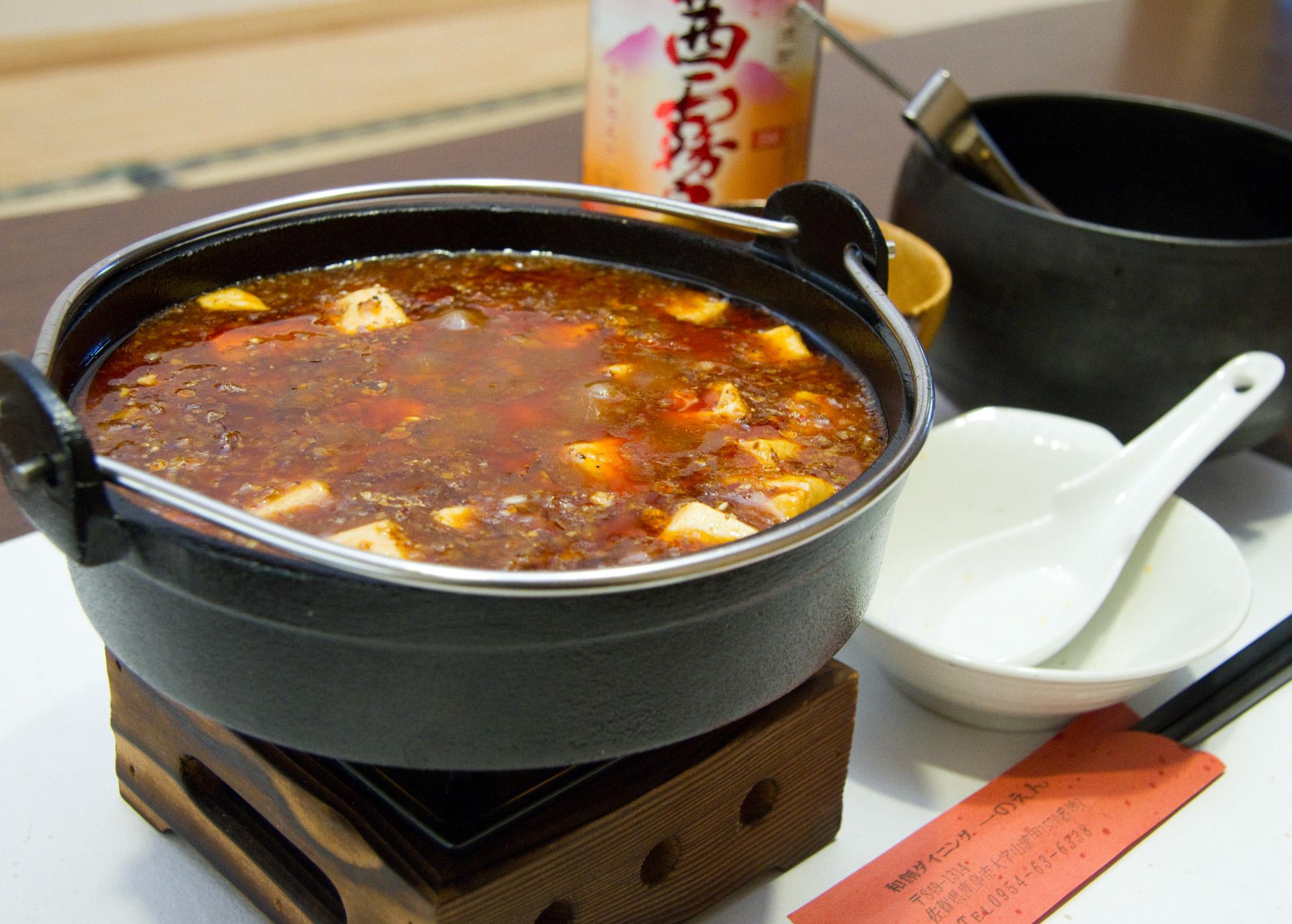 当店自慢の逸品は本格派「麻婆豆腐」辛さの中の旨味にこだわった逸品です。