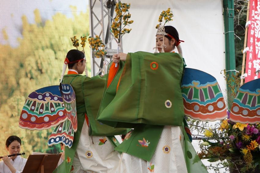 祐徳稲荷神社の巫女舞