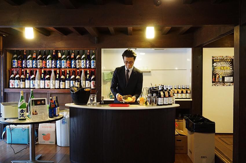 日本酒カクテルバー(光武酒造場)