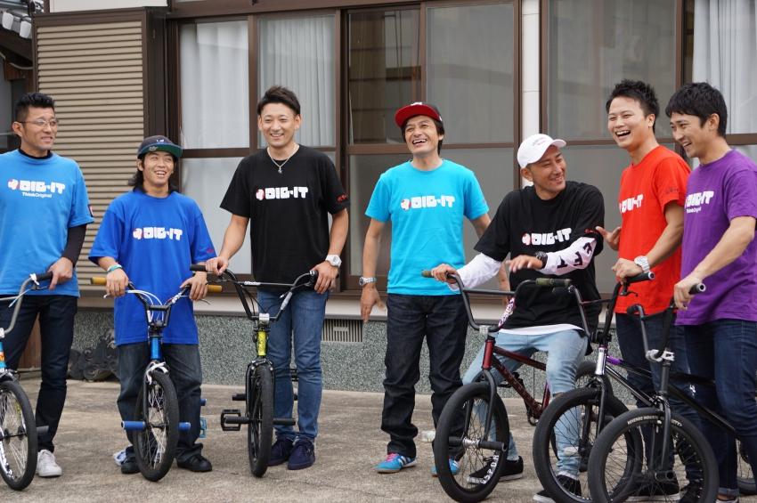 BMXのパフォーマンスメンバー