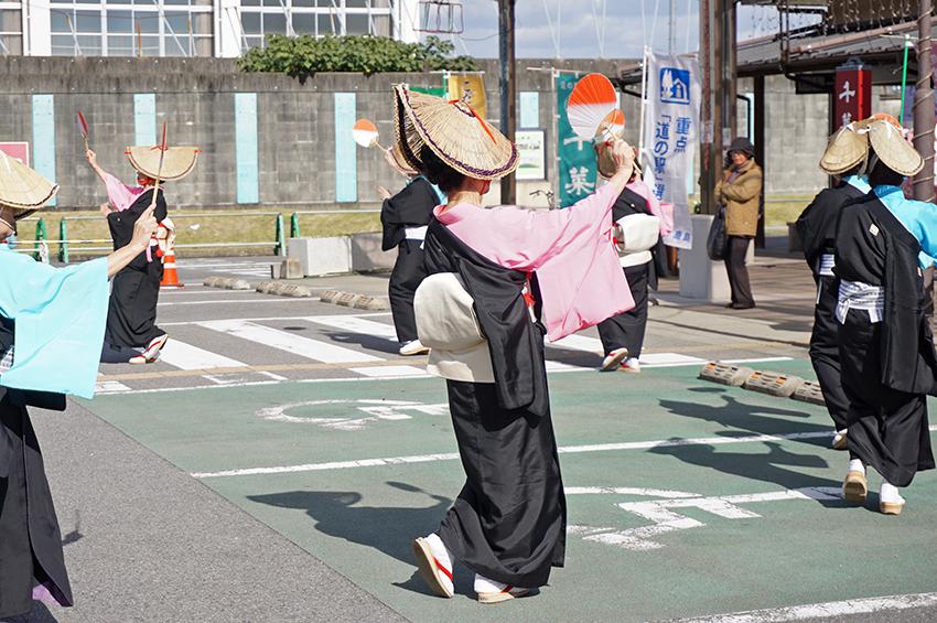 ほとめき会の日本舞踊