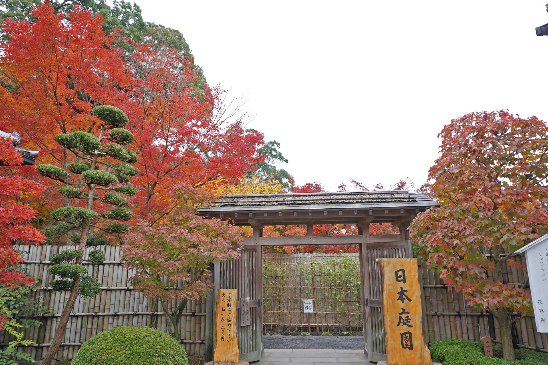 祐徳稲荷神社日本庭園の入り口