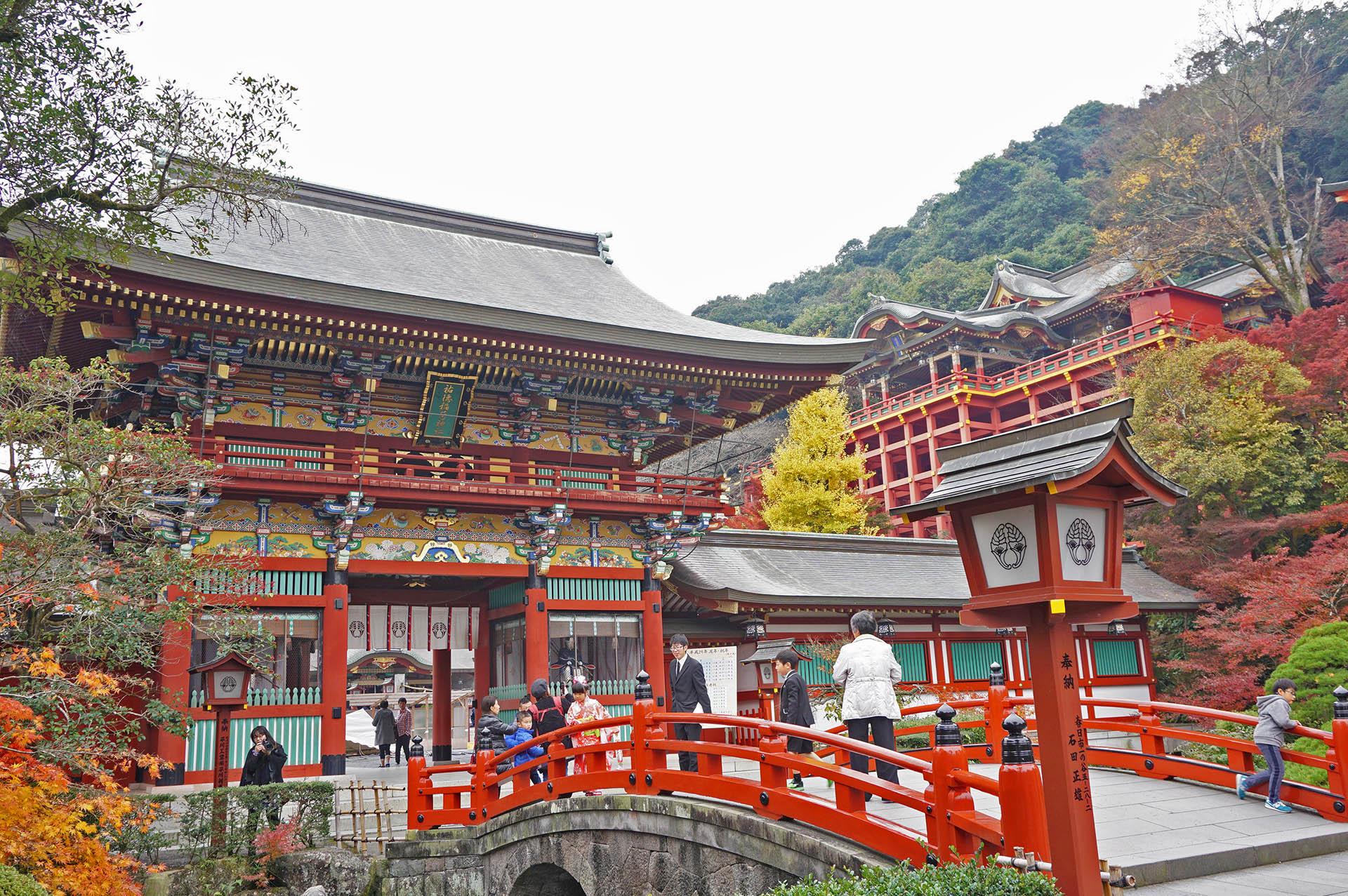 祐徳稲荷神社紅葉の撮影スポット