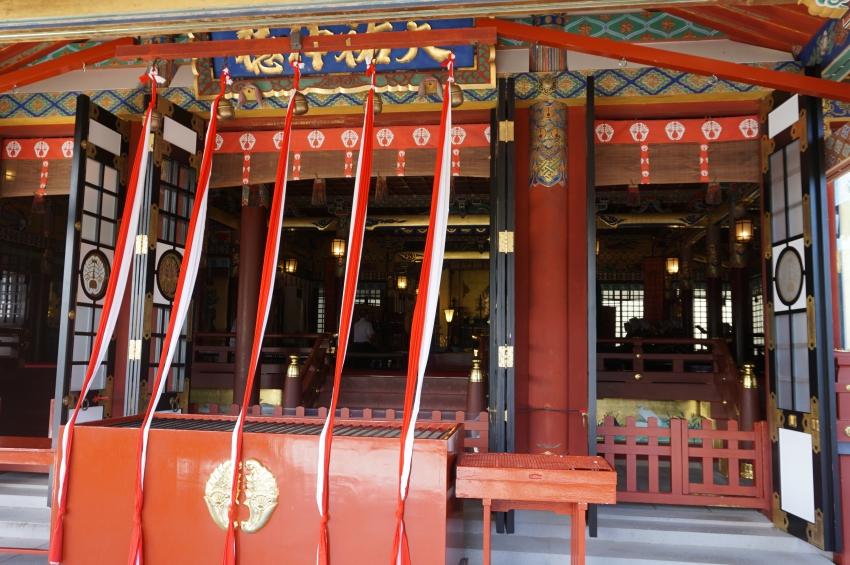 祐徳稲荷神社本殿の参拝場所