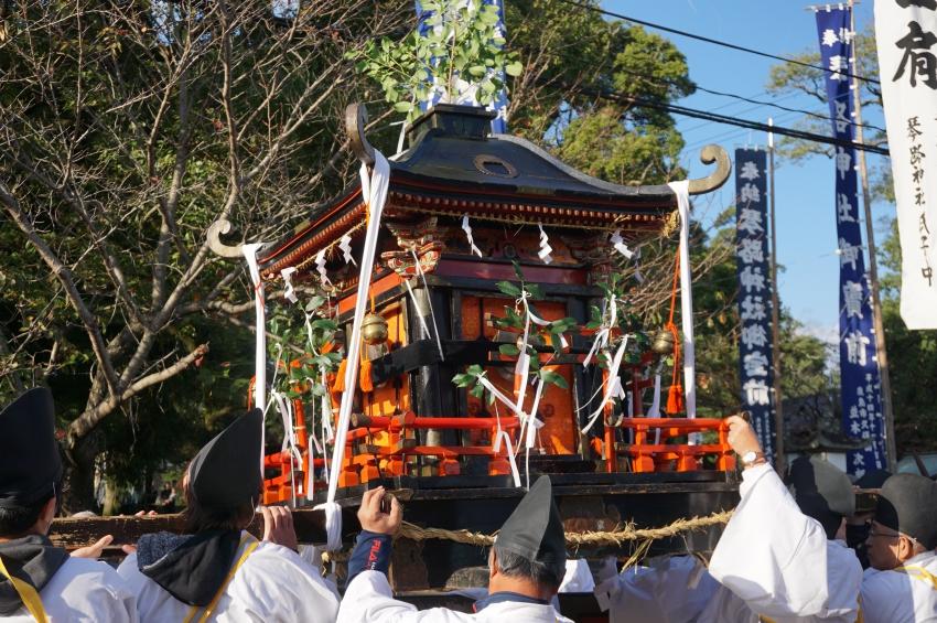 琴路神社の御輿