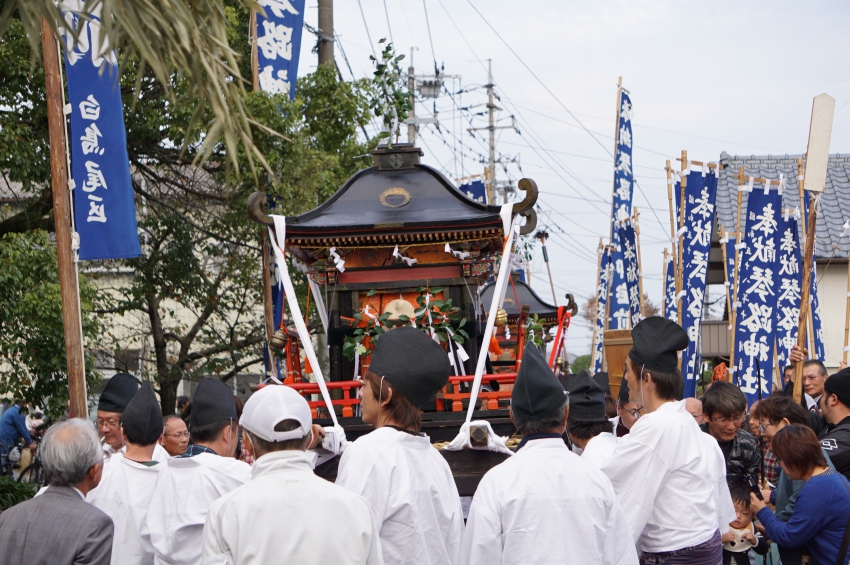 琴路神社のおのぼり