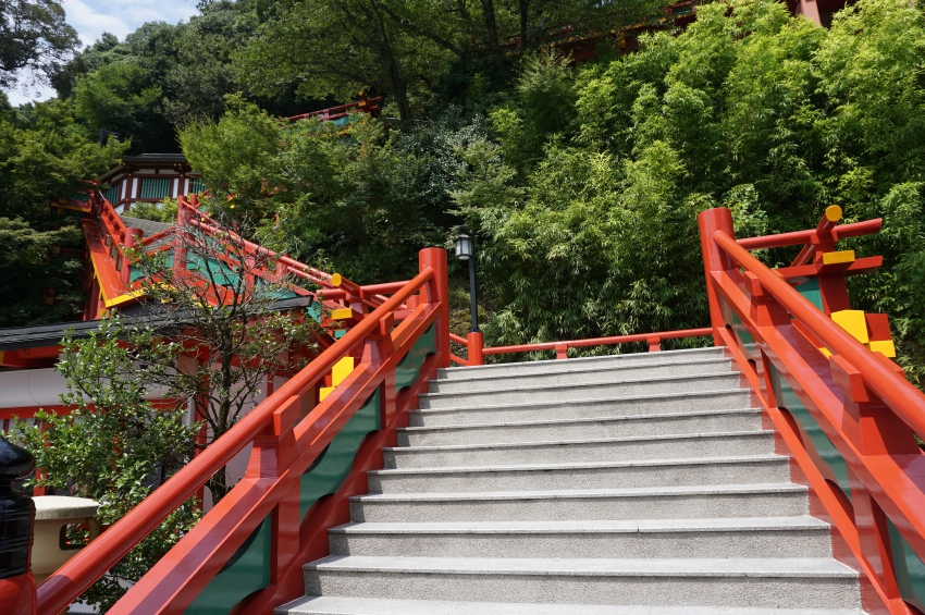 祐徳稲荷神社の上り参道