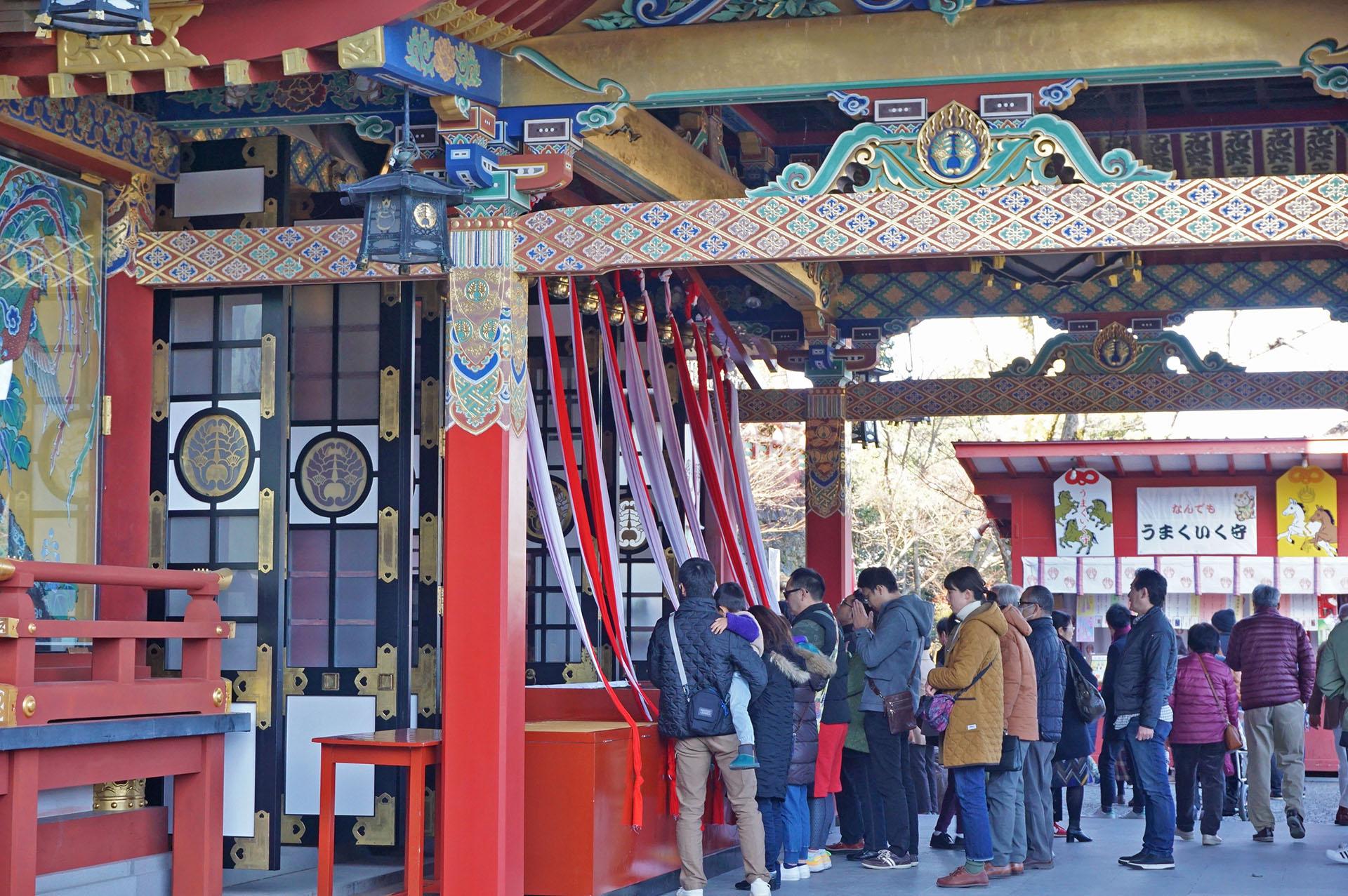 祐徳稲荷神社初詣の本殿