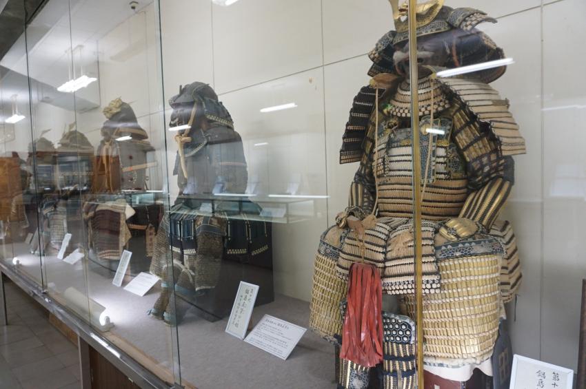 祐徳博物館の鹿島藩歴代藩主の鎧兜