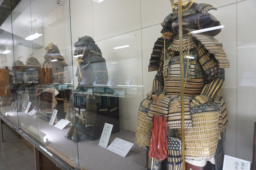 鹿島藩歴代藩主の鎧
