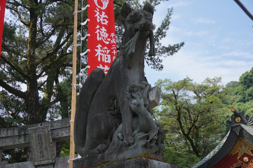 祐徳稲荷神社の狐