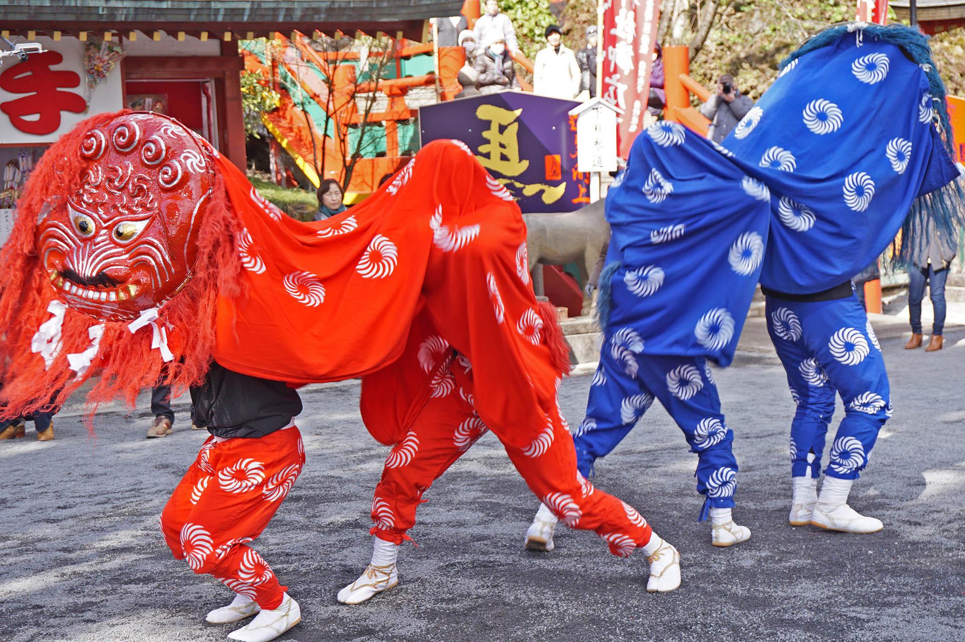 大村方獅子舞
