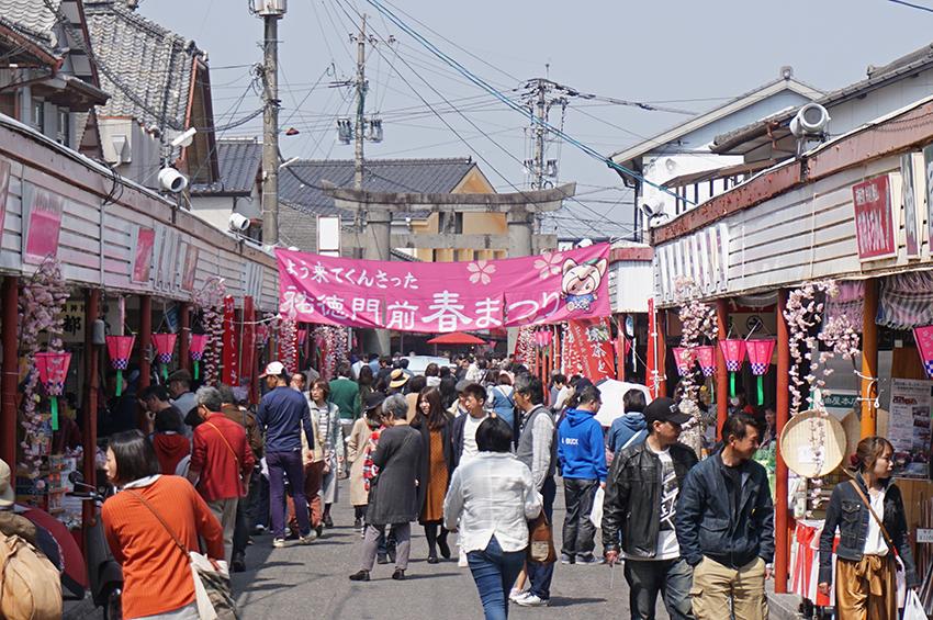 祐徳稲荷神社門前商店街