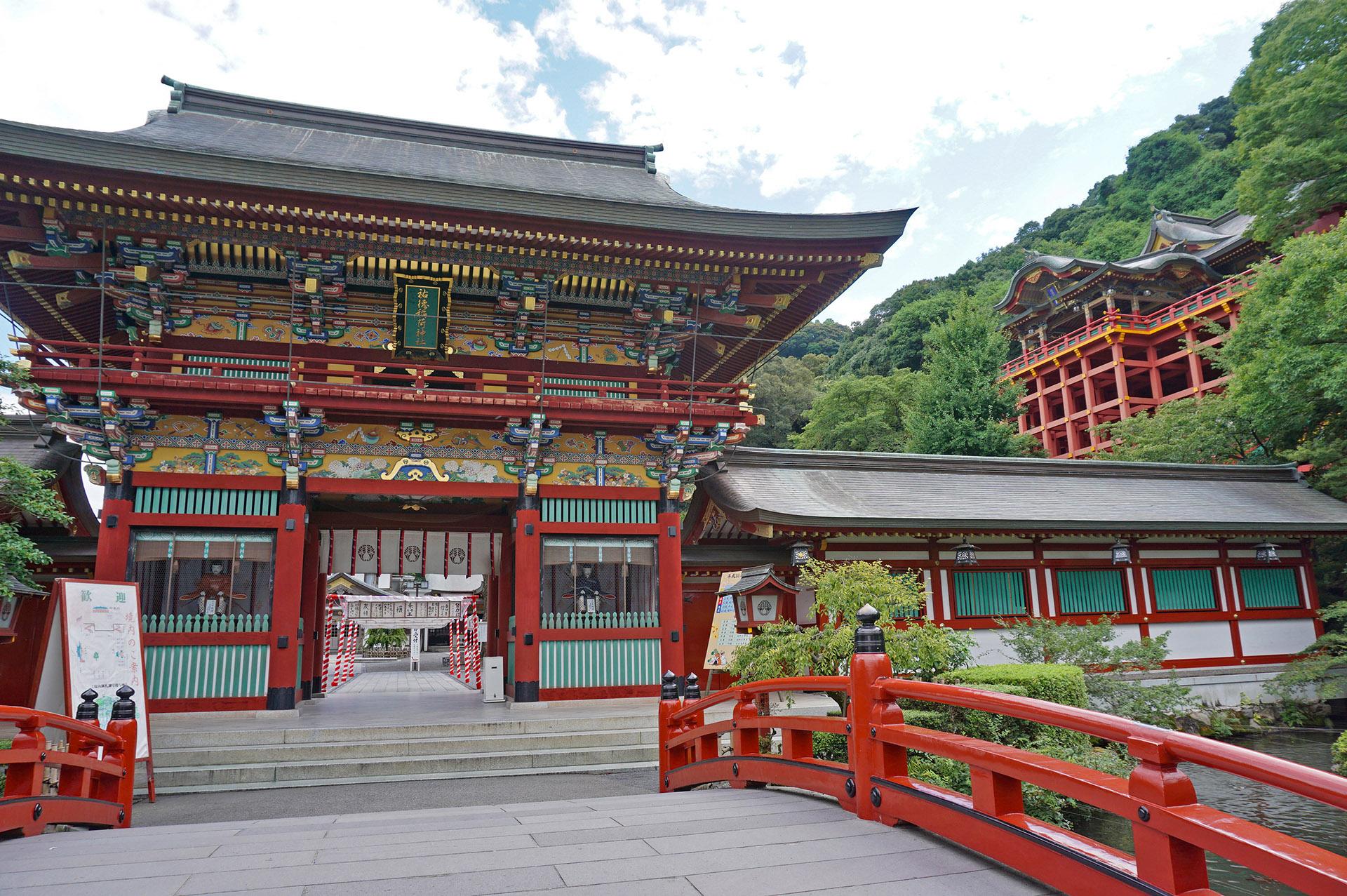 祐徳稲荷神社の楼門