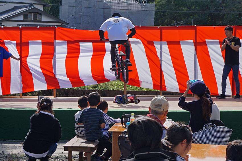 BMXの自転車パフォーマンス