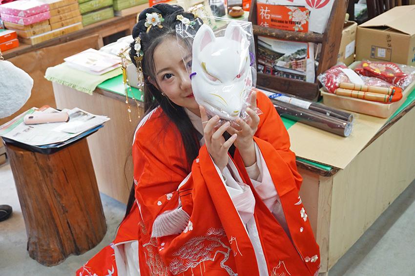 祐徳稲荷神社海外の観光客